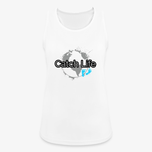 Catch Life Black - Women's Breathable Tank Top