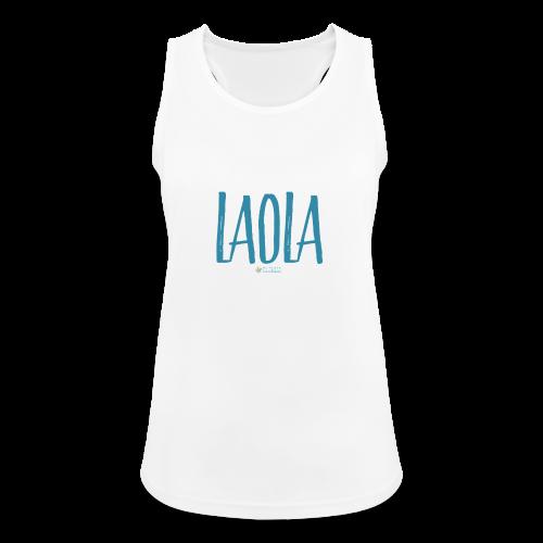 ola - Camiseta de tirantes transpirable mujer