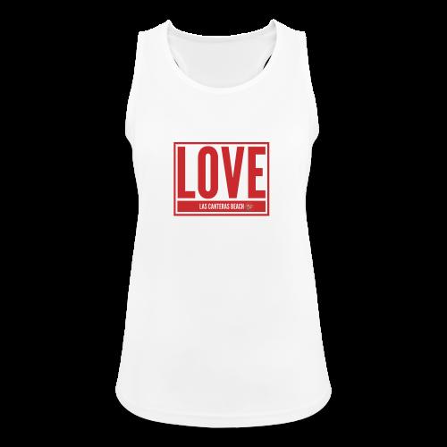 Love Las Canteras - Camiseta de tirantes transpirable mujer