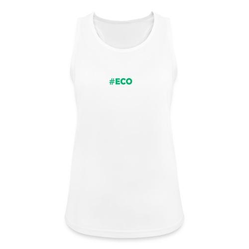 #ECO Blue-Green - Frauen Tank Top atmungsaktiv