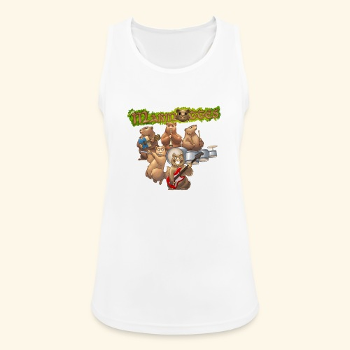 Tshirt groupe complet (dos) - Débardeur respirant Femme
