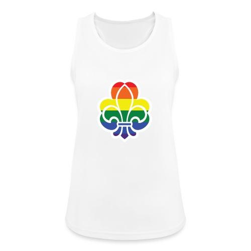 Regnbuespejder jakker og t-shirts mv - Dame tanktop åndbar