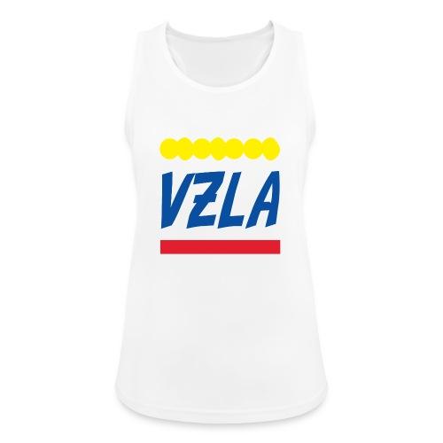 vzla 01 - Camiseta de tirantes transpirable mujer