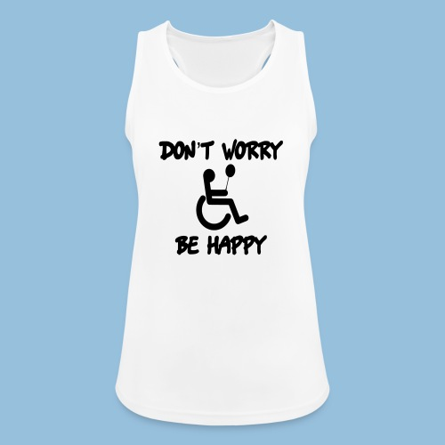 dontworry - Vrouwen tanktop ademend
