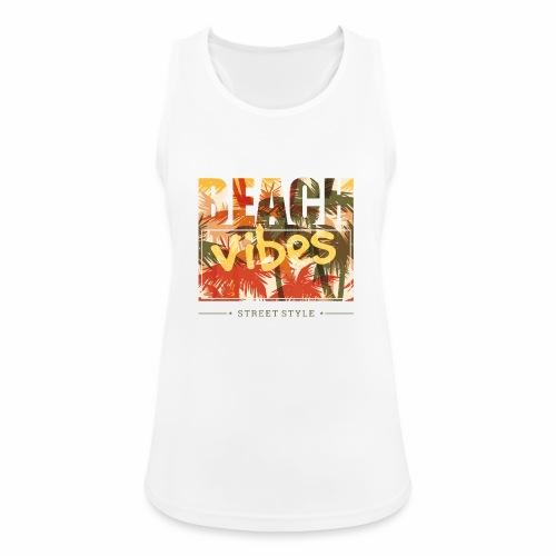 beach vibes street style - Frauen Tank Top atmungsaktiv