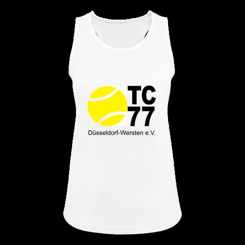TC 77 Logo - Frauen Tank Top atmungsaktiv