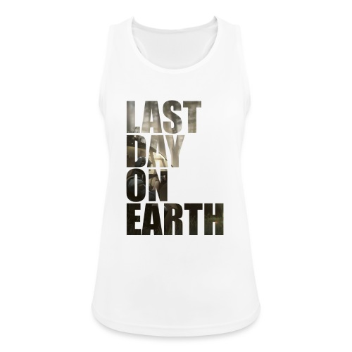 Último día en la tierra - Camiseta de tirantes transpirable mujer