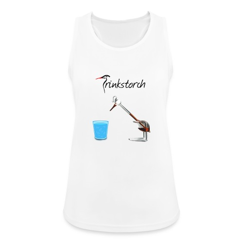 Trinkstorch - Frauen Tank Top atmungsaktiv
