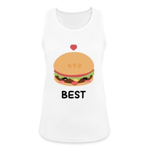 hamburger - Top da donna traspirante