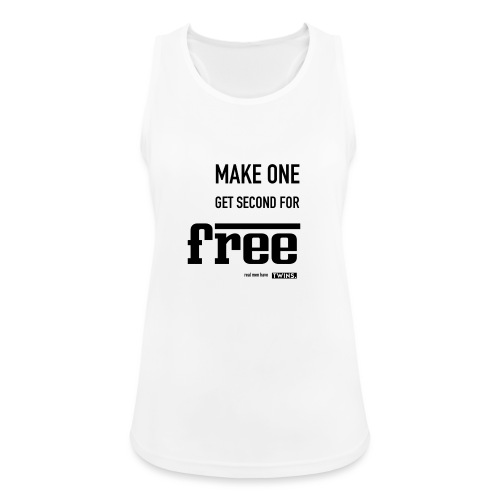 TWINS. make one get second for free - Frauen Tank Top atmungsaktiv