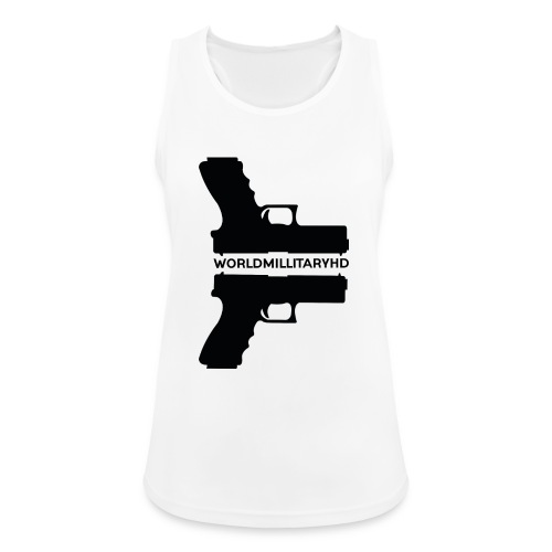WorldMilitaryHD Glock design (black) - Vrouwen tanktop ademend actief