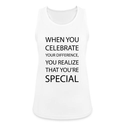 You're special - Dame tanktop åndbar
