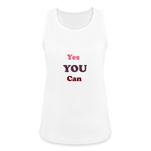 you can - Women's Breathable Tank Top