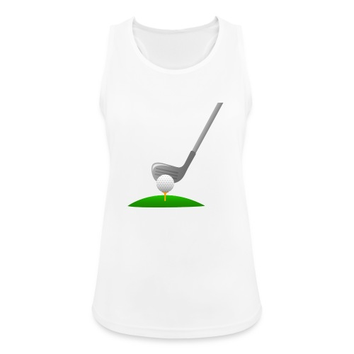 Golf Ball PNG - Camiseta de tirantes transpirable mujer