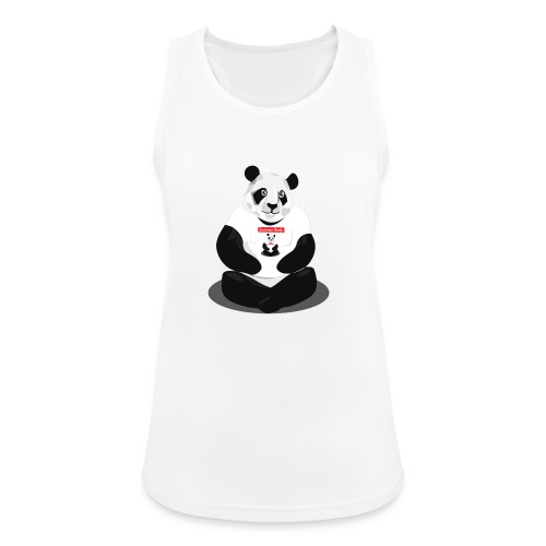panda hd - Débardeur respirant Femme