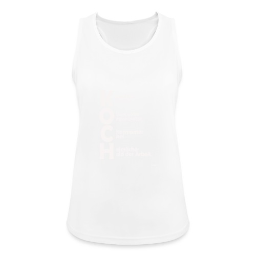Was macht einen Koch aus? (Premium Shirt) - Frauen Tank Top atmungsaktiv