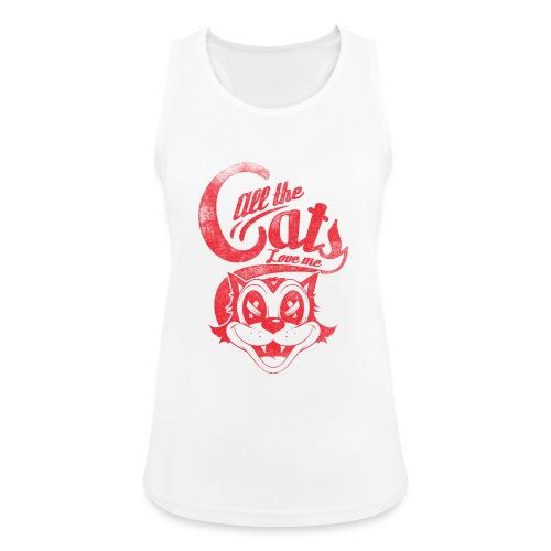 All the cats love me - Frauen Tank Top atmungsaktiv
