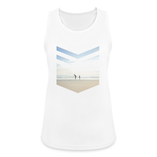 Surf Beach Triangle - Frauen Tank Top atmungsaktiv