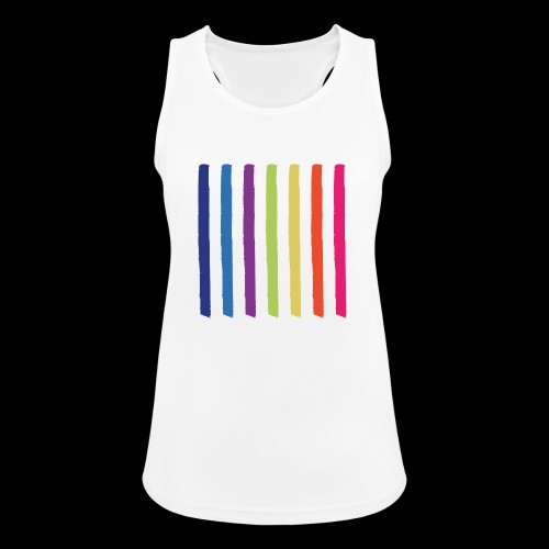 Lines - Women's Breathable Tank Top