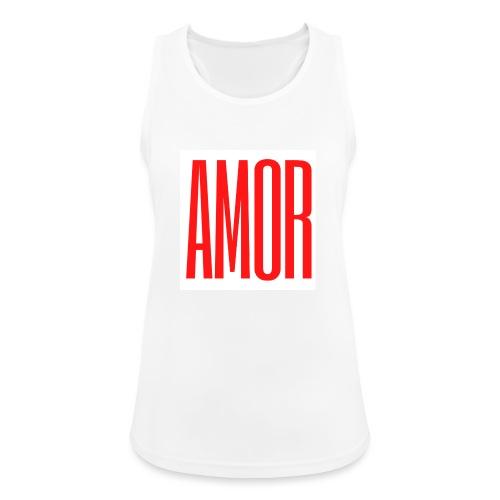 AMOR - Camiseta de tirantes transpirable mujer