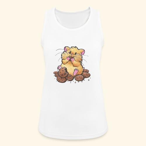 Cookie Hamster - Frauen Tank Top atmungsaktiv