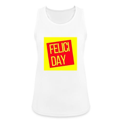 Feliciday - Camiseta de tirantes transpirable mujer