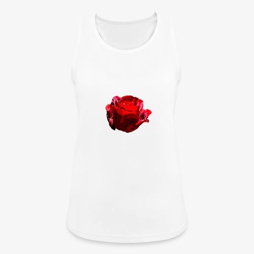 Red Rose - Frauen Tank Top atmungsaktiv