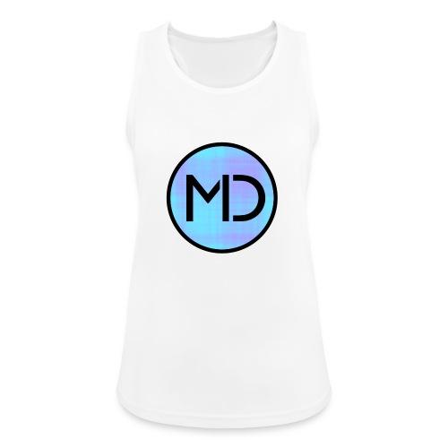 MD Blue Fibre Trans - Women's Breathable Tank Top