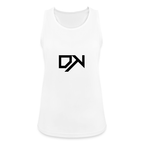 DewKee Logo T-Shirt Black - Women's Breathable Tank Top