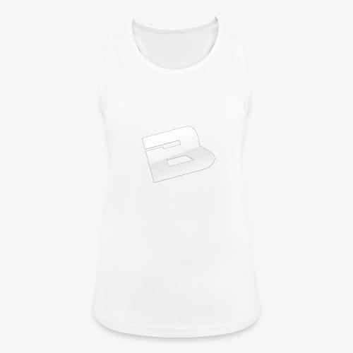 T-Shirt Logo Blues - Débardeur respirant Femme