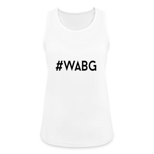 WABG ZWART png - Vrouwen tanktop ademend