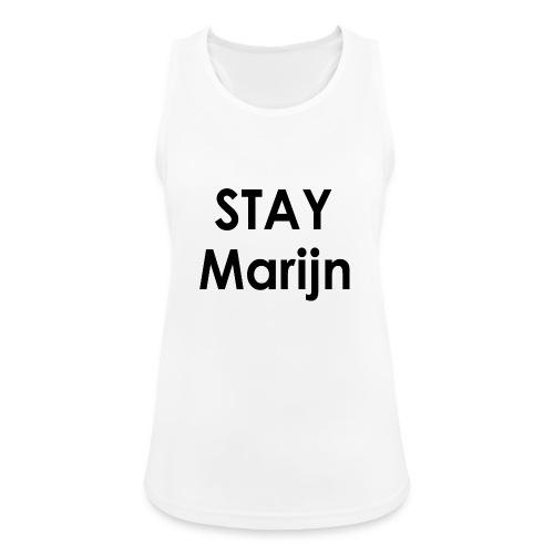 stay marijn black - Vrouwen tanktop ademend actief