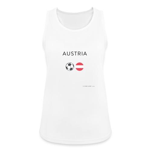 Austria Fußball - Frauen Tank Top atmungsaktiv