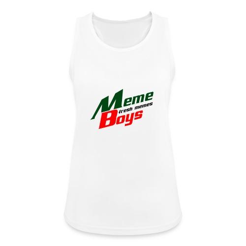 Memeboys Logo Shirt - Women's Breathable Tank Top