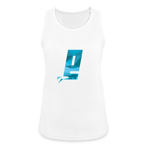 Eventuell Logo small - Shirt White - Frauen Tank Top atmungsaktiv