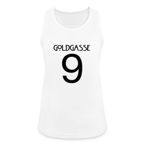 Goldgasse 9 - Back - Women's Breathable Tank Top