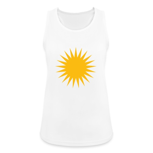 Kurdische Sonne Symbol - Frauen Tank Top atmungsaktiv
