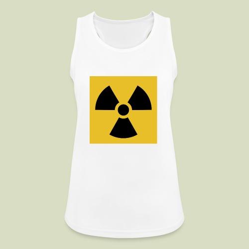 Radiation warning - Naisten tekninen tankkitoppi
