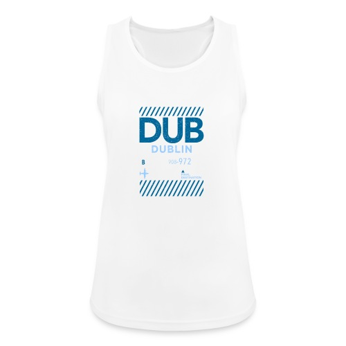 Dublin Ireland Travel - Women's Breathable Tank Top
