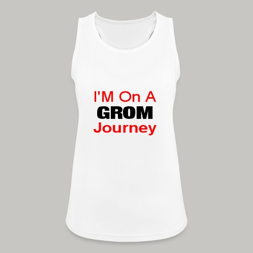 i am on a grom journey - Women's Breathable Tank Top