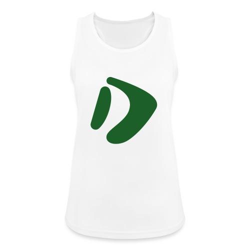 Logo D Green DomesSport - Frauen Tank Top atmungsaktiv