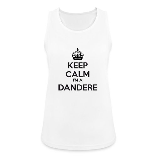 Dandere keep calm - Women's Breathable Tank Top