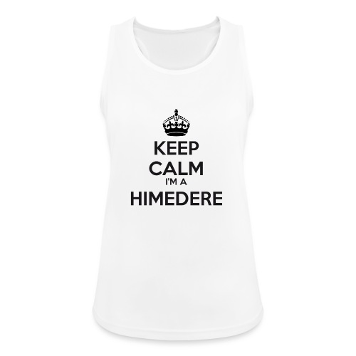 Himedere keep calm - Women's Breathable Tank Top