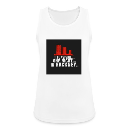i survived one night in hackney badge - Women's Breathable Tank Top