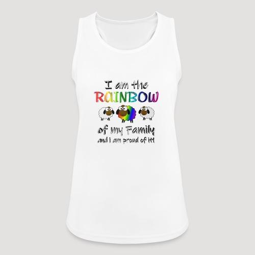 Rainbow Sheep - Frauen Tank Top atmungsaktiv