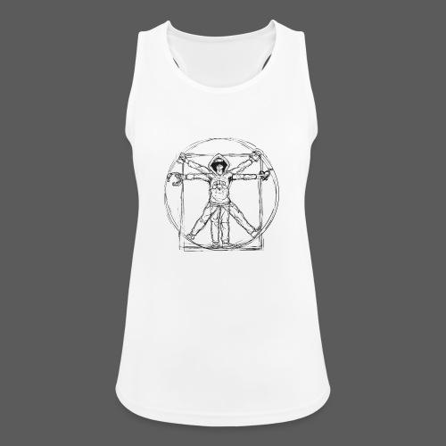 The Vitruvian Gamer - Frauen Tank Top atmungsaktiv