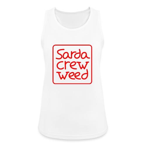 Logo Sarda Crew - Camiseta de tirantes transpirable mujer