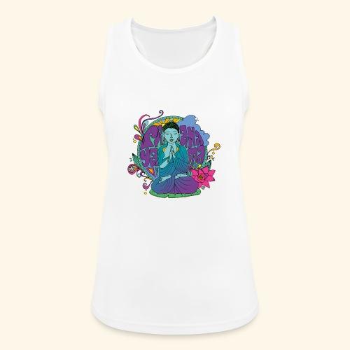 pranayama - Camiseta de tirantes transpirable mujer