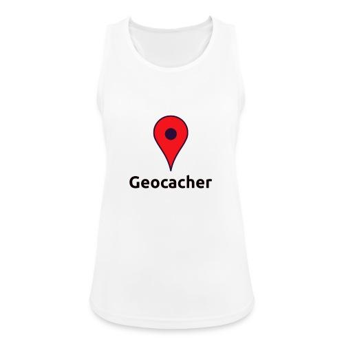 Geocacher - Frauen Tank Top atmungsaktiv