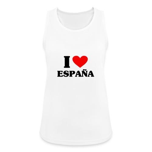 I love Espana - Frauen Tank Top atmungsaktiv